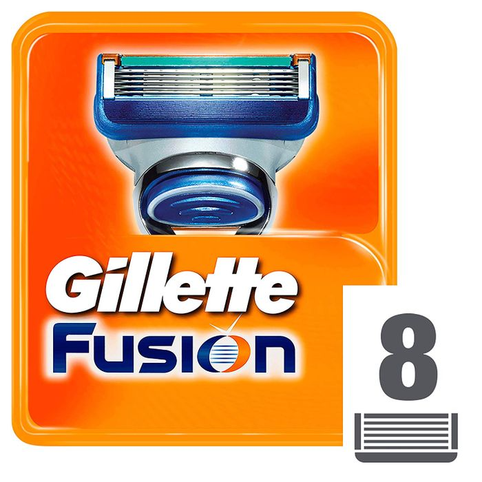 Cheap Gillette Fusion Razor Blades, 8 Refills at Amazon reduced by £5.99
