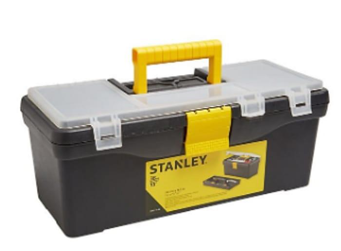 "Stanley 15"" Plastic Toolbox"