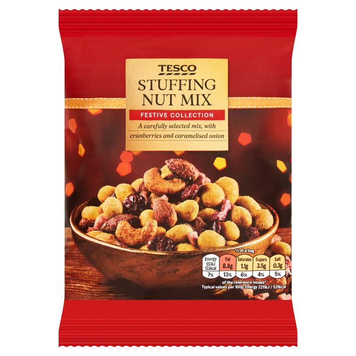 Stuffing Flavour Mixed nuts...