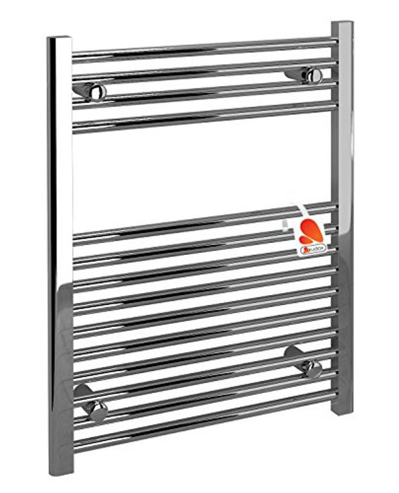 Chrome Heated Bathroom Radiator Towel Rail
