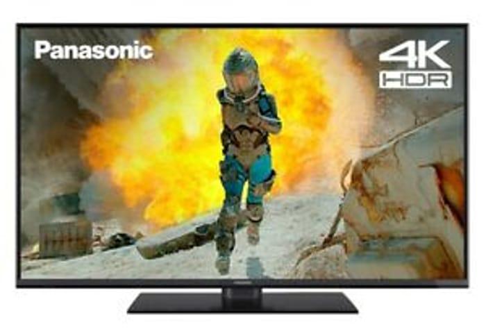 Panasonic TX-49FX555B 49 Inch SMART 4K Ultra HD HDR LED TV Freeview Play WiFi
