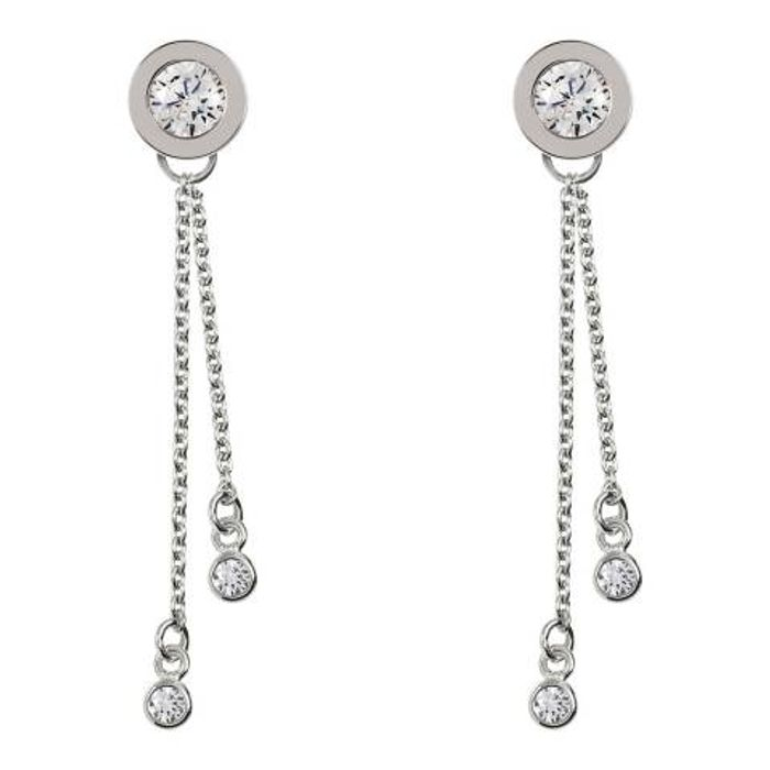 RADLEY Sterling Silver Stud Multi Drop Earrings