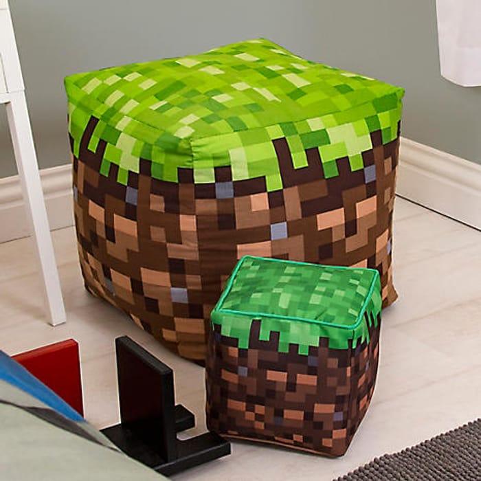 Minecraft Build Bean Bag, Ideal for Christmas :)
