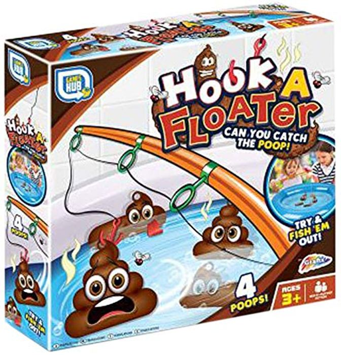 Hook a Floater Game Multicoloured at Amazon