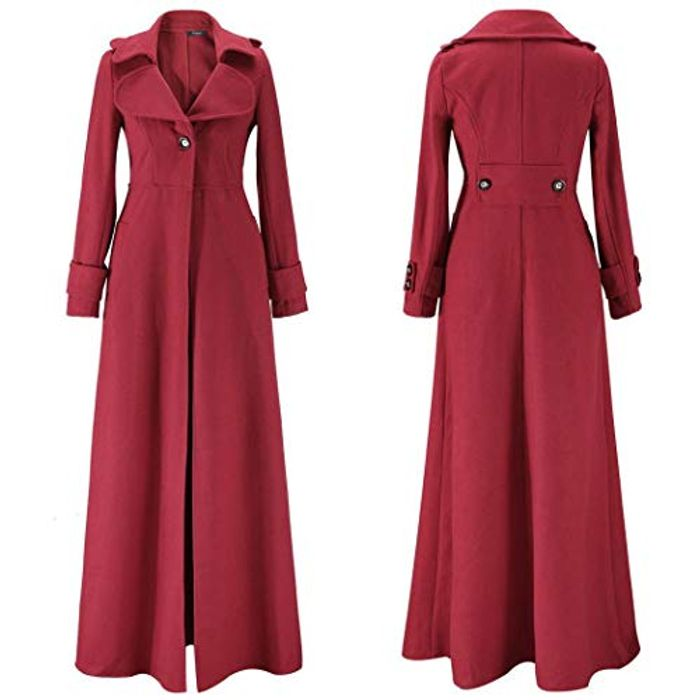 Long Overcoat 70% off + Free Delivery