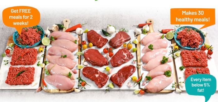 Bargain £55 Meat Today - Plus FREE Ready Meals!