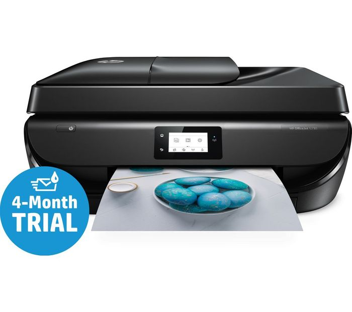 HP OfficeJet 5230 All-in-One Wireless Inkjet Printer with 60% Discount