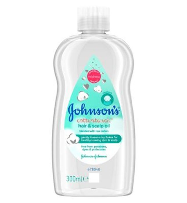 Johnsons Cotton Touch Hair & Scalp Oil 300ml - 33% Off!