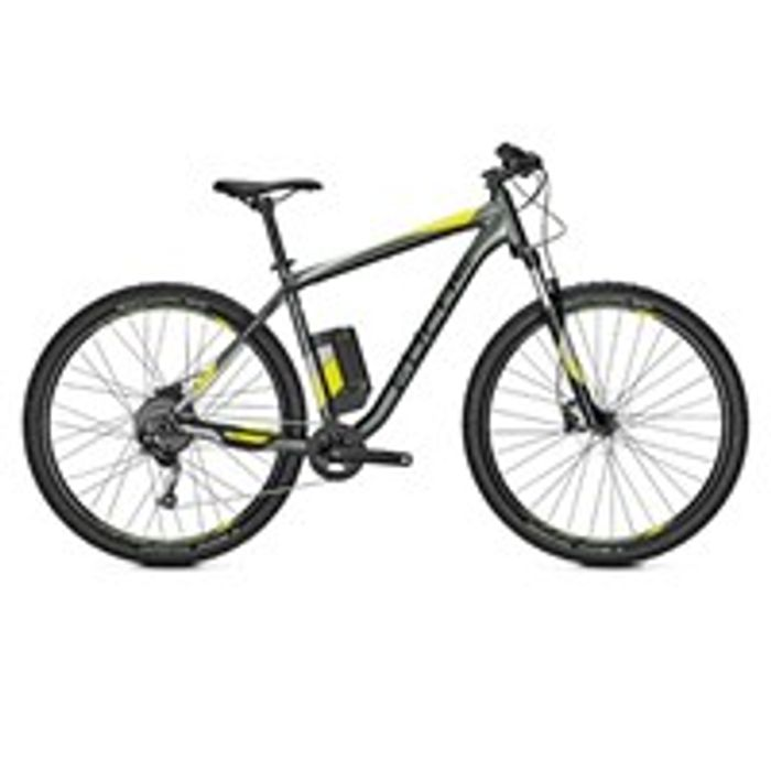 Focus Whistler2 3.9 2019 Electric Hardtail Mountain Bike Grey