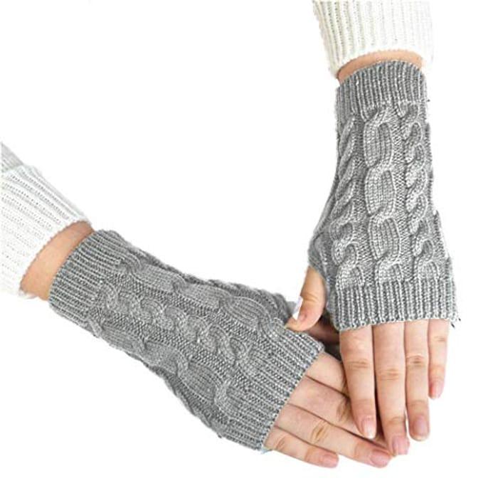 Half Fingerless Gloves-Multiple Colours