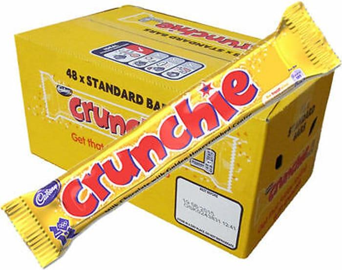 Best Ever Price! Cadbury Standard Crunchie Bar 40 G (Pack of 48)