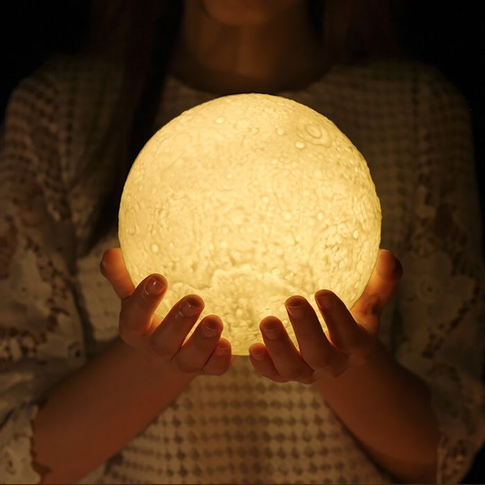 Best Ever Price! GreenClick 3D Moon Lamp Dimmable LED Moon Light