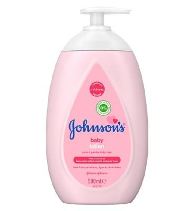 Cheap JOHNSON'S Baby Lotion 500ml, Only £1.67