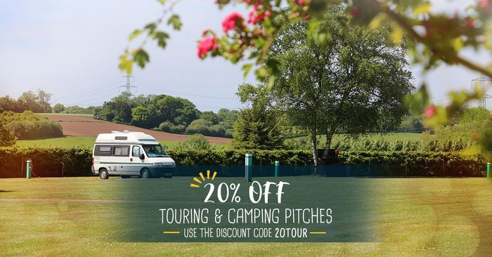 Save an Extra 20% on Any 2019 Touring and Camping Holiday Bookings