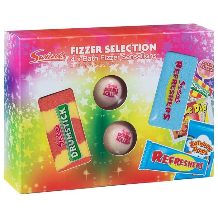 Swizzels Bath Fizzer Selection 4pk
