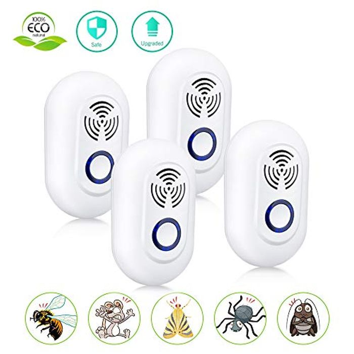 Ultrasonic Pest Repeller Insect Repellent Plug