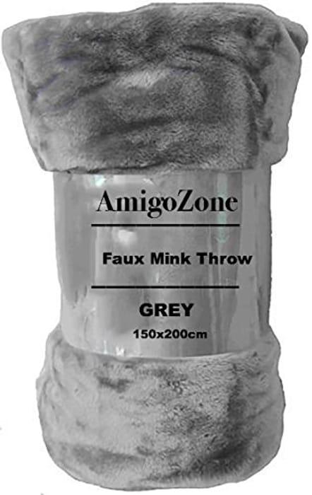Grey Throw