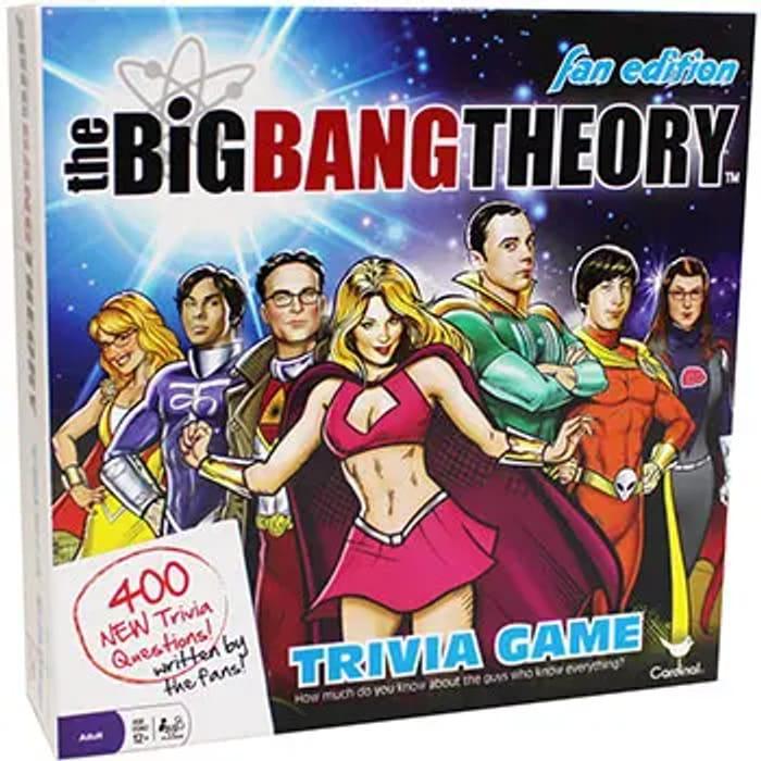 The Works Big Bang Theory Fact Fiction Trivia Game