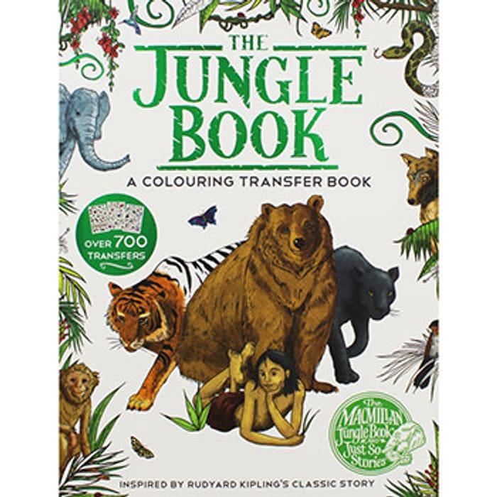 The Jungle Book - a Colouring Transfer Book