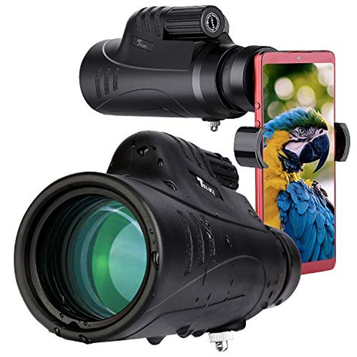 High Definition Scope Swiveling Eye Patch with Smartphone Adapter