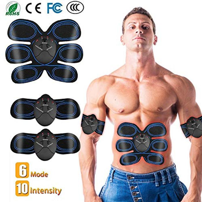 ABS Trainer Muscle Toner, Portable Abdominal Muscle Toning Belt