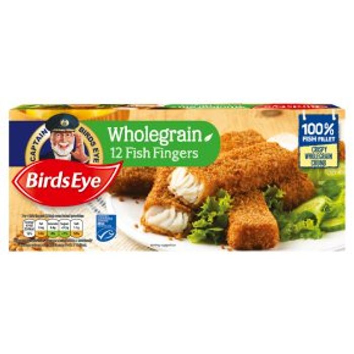 Birds Eye 12 Wholegrain Fish Fingers360g