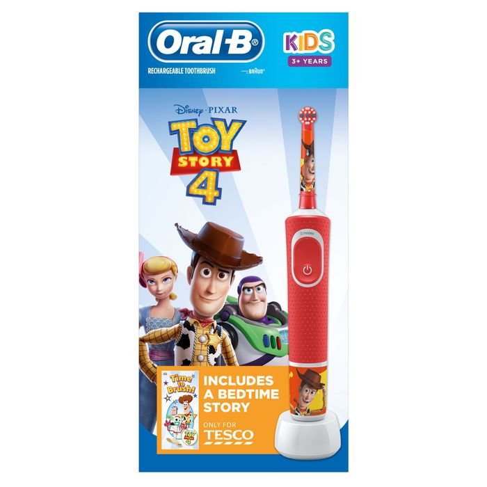 Cheap Oral-B Kids 3+ Toy Story Electric Toothbrush on Sale From £35 to £17.5