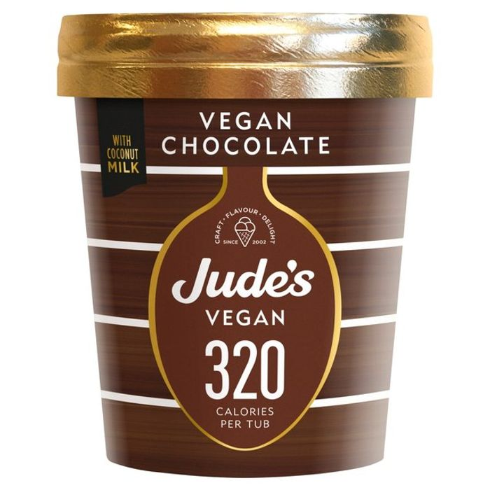 Jude's Lower Calorie Ice Cream Tubs (Including Vegan Chocolate)