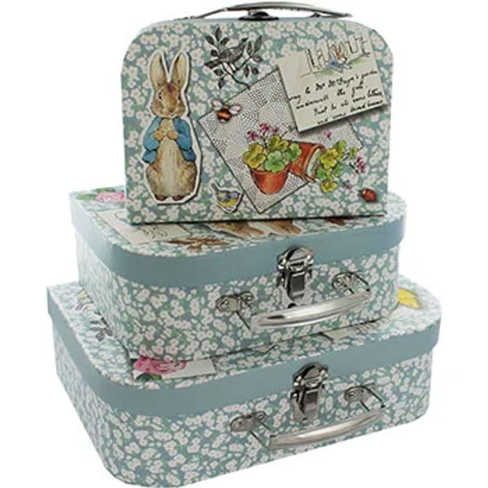 Cheap Peter Rabbit Storage Suitcases - Set of 3, Only £7
