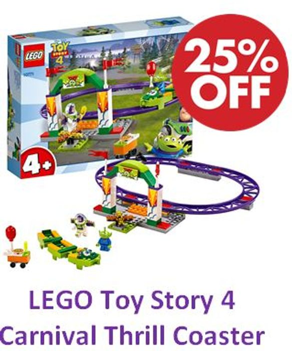 LEGO Toy Story 4 - Carnival Thrill Coaster (10771)