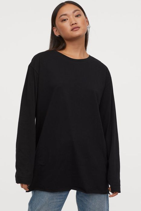 Oversized Jersey Top - Save £3.99