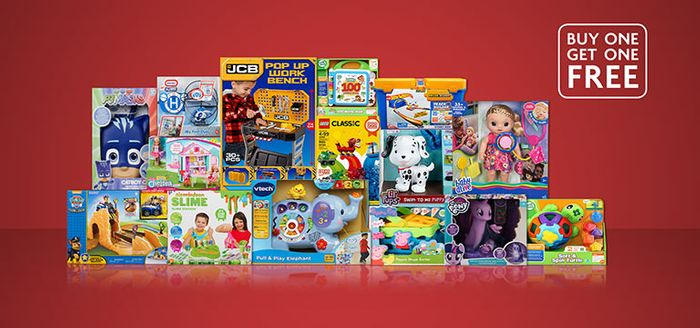 Buy One Get One Free Toys at Morrisons Instore Only