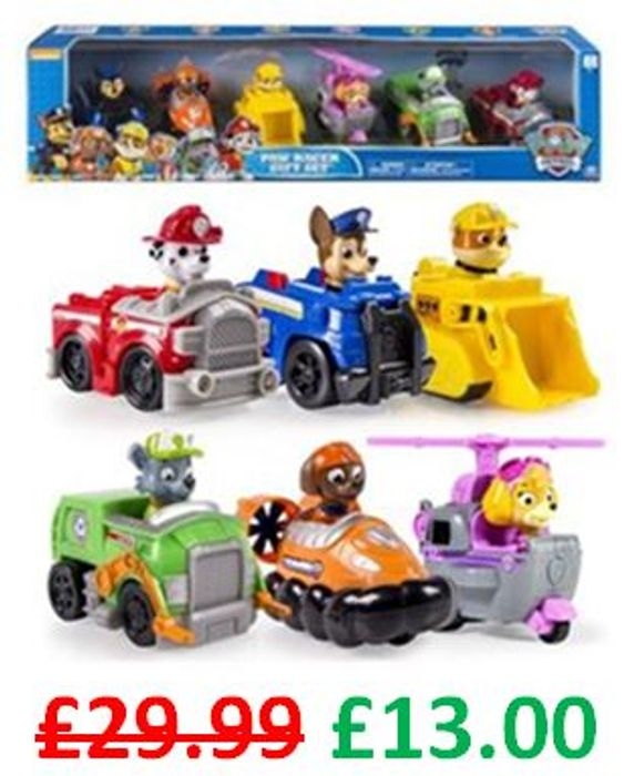 Paw Patrol - Paw Racer Gift Set