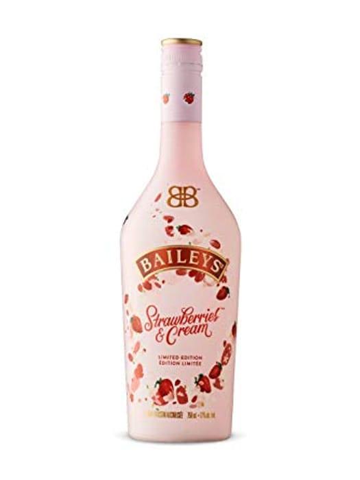 Bailey Strawberries and Cream Irish Cream Liqueur 700ml - Save £6!