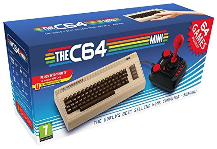 Commodore 64 Mini Retro with Joystick and 64 Games