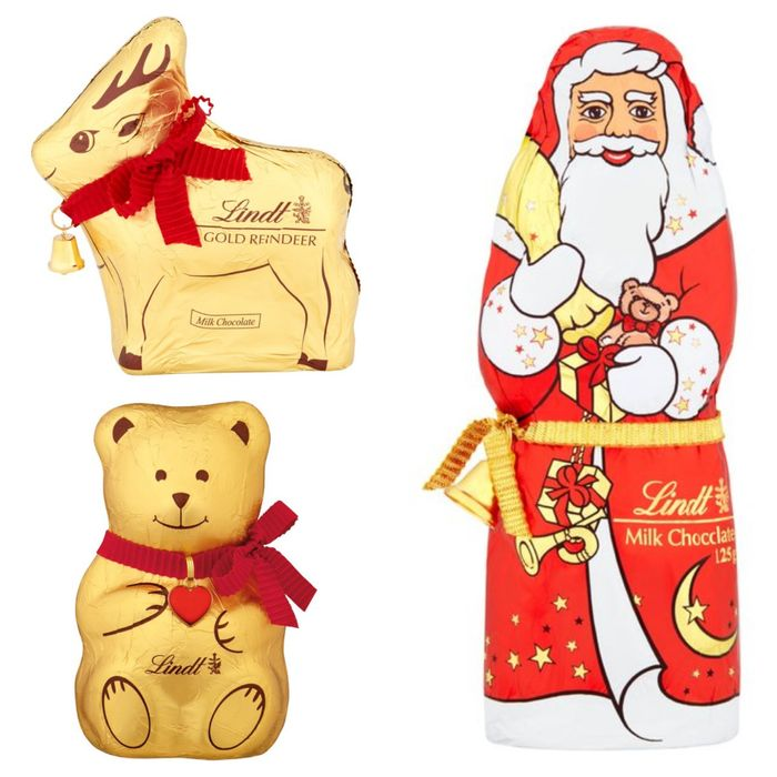 Best Price 2 for £5 on Lindt Christmas Characters