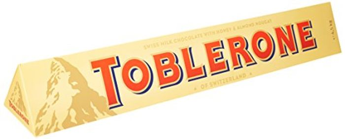 Huge Toblerone Milk Chocolate Jumbo Bar 4.5kg