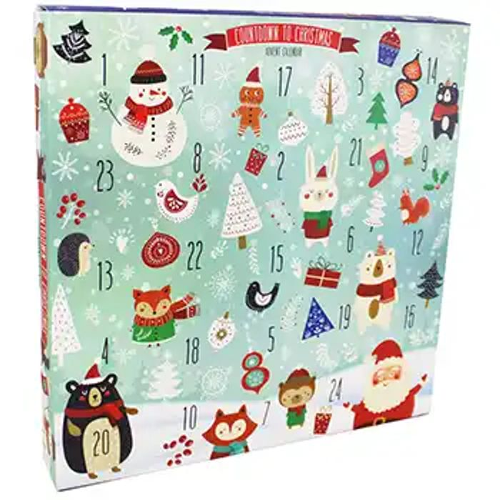 Fill Your Own Advent Calendar - Snowy Scene save 80P