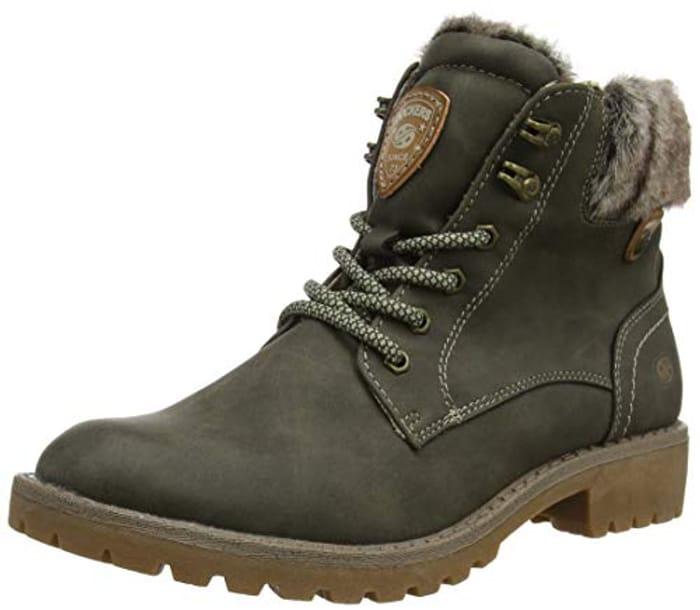 Dockers by Gerli Women's 43fa302 Combat Boots Size 4.5