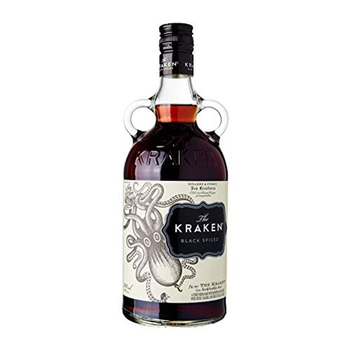 Kraken Black Spiced Rum, 70 Cl - Save £5.96!