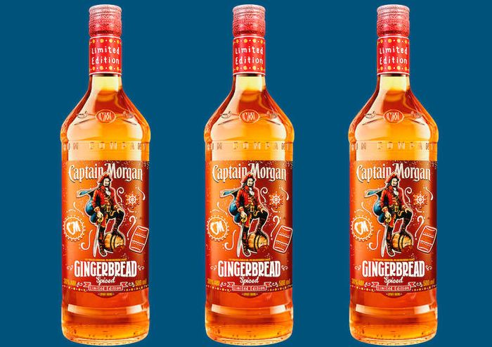 Brand New - Captain Morgan Gingerbread Spiced Rum Only £12