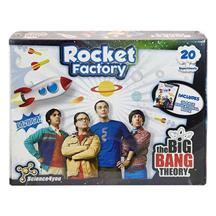The Big Bang Theory - Rocket Factory (Ideal for Christmas)