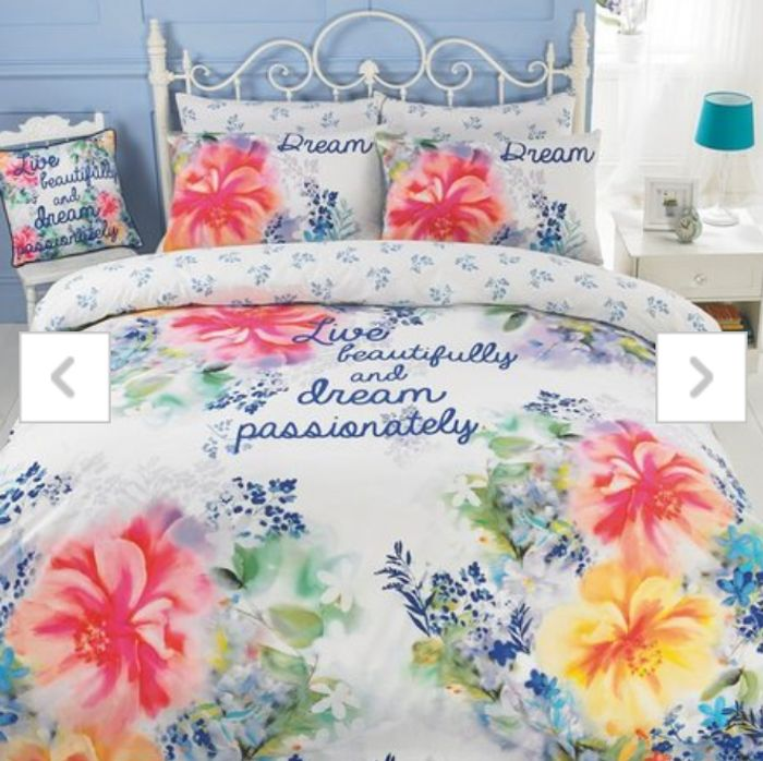 Catherine Lansfield Summer Bloom Double Duvet Set