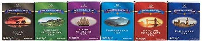 New English Teas Traditional Tea 6 Pack