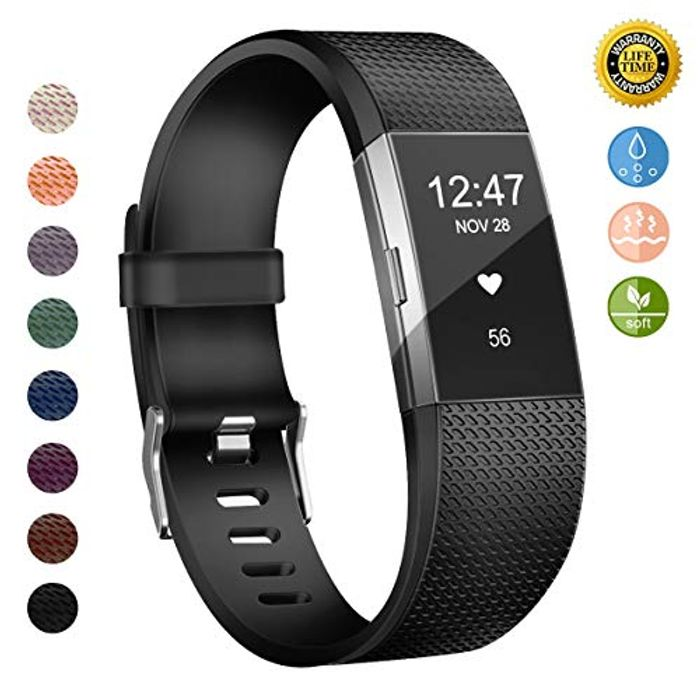 Replacement Bands Compatible for Fitbit Charge 2 Strap