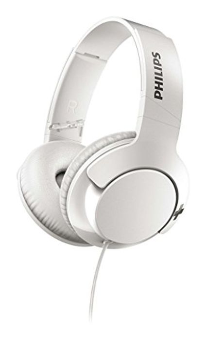 Best Ever Price! Philips SHL3175WT BASS+ Headphones with Mic
