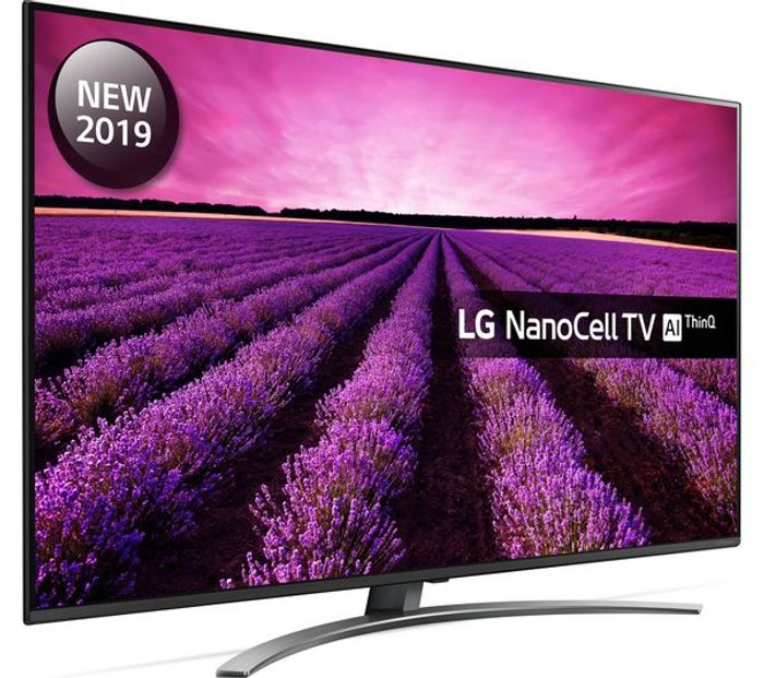 """Cheap LG 55"""" Smart 4K Ultra HD HDR LED TV with Google Assistant - Save £200"""