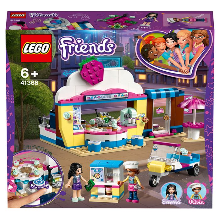 LEGO Friends Olivia's Cupcake Caf Doll's Accessories 41366