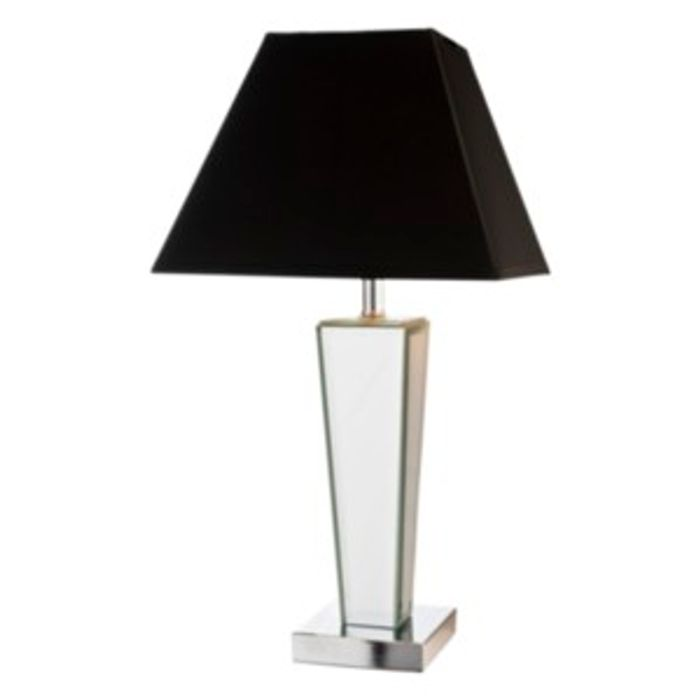 Mirror Table Lamp - Silver