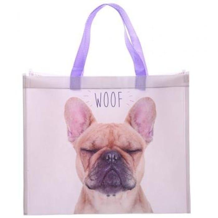 French Bulldog Shopping Bag H 33cm W40cm D 16.5cm FREE DELIVERY